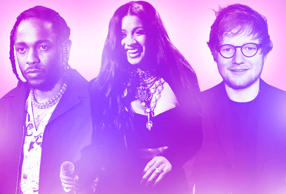 kendrick-ed-sheeran-cardi-b-billboard-music-awards