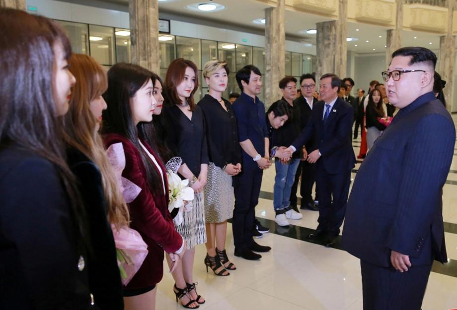 Kim Jongun e Red Velvet