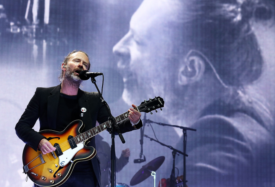 Thom Yorke from Radiohead performs on the main stage at TRNSMT festival in Glasgow. (Photo by Andrew Milligan/PA Images via Getty Images)