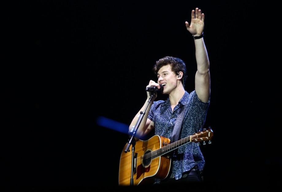 Show Shawn Mendes, segundo show do segundo dia de Rock in Rio, no Palco Mundo, no Parque Olímpico, em Jacarapaguá, zona oeste, Rio de Janeiro, RJ. (16/09/17) Foto: Roberto Filho / Brazil News.